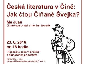 Pozvánka: Česká literatura v Číně
