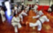 Photo of martial art class