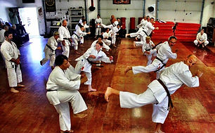 Photo of martial art class