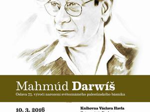 Pocta Mahmúdu Darwíšovi v Knihovně Václava Havla