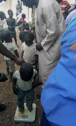 Children under health supervision