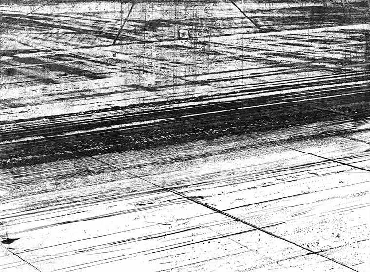RUNAWAY 2013 -etching- 80x70 cm