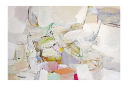 Abstract N80, 140 x 200 cm, oil on canvas