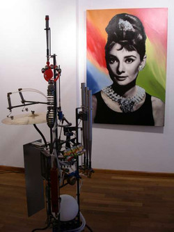 Soundinstallation, Maschinenkunst