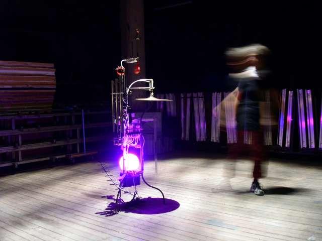 Nebelmeer, Lichtinstallation, Maschinenkunst