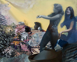 03.Untitled , 180x 220 cm, oil on canvas