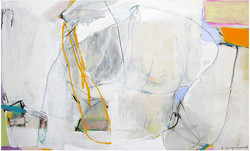 First steps _ 90 cm x 150 cm _ mixed media on canvas