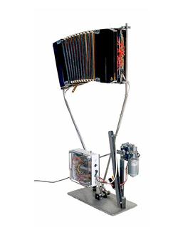 Weltmeister  Soundinstallation, Maschinenkunst