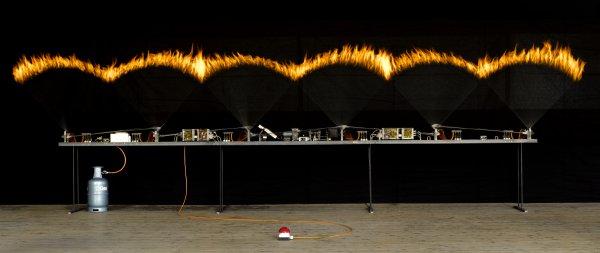 Pyrofora, Soundinstallation, Maschinenkunst