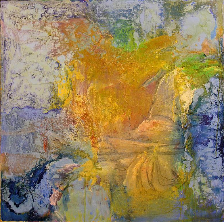 Figure _ 100 cm x 100 cm _ mixed media o
