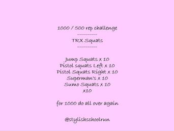 1000 / 500 REP CHALLENGE