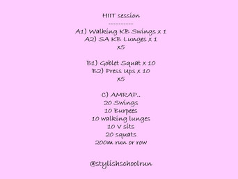 HIIT SESSION