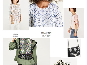 MUST HAVE ITEMS: ZARA'S NEW STOCK DROP