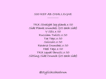 500 REP ABS CHALLENGE