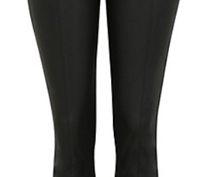 LUSH FAUX LEATHER TROUSERS