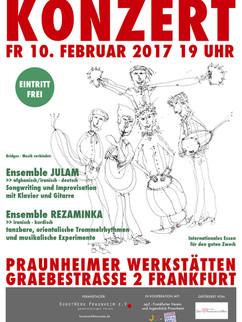 Plakat Bridges Konzert