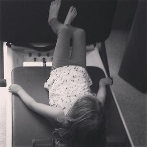 Molly loves Pilates because .jpg.jpg.jpg'it is fun and I like jumping!'.jpg Molly, future Pilates St