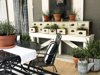 Greenhouse Inspired Porch