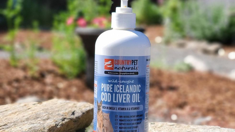 Pure Fresh Icelandic Cod Liver Oil