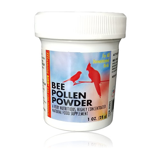 Morning Bird Bee Pollen Powder, 1 oz
