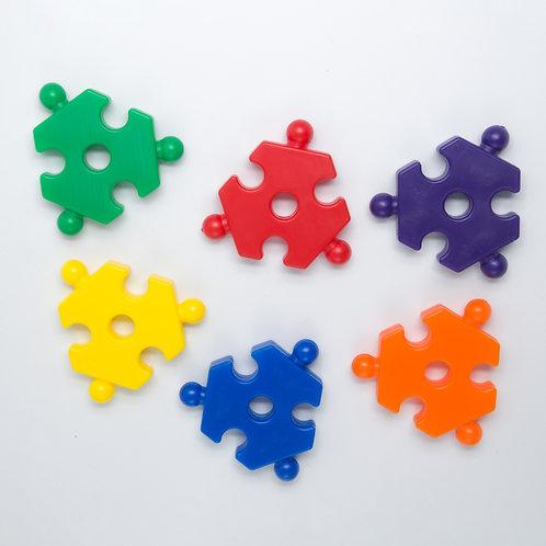 Plastic Puzzle Piece