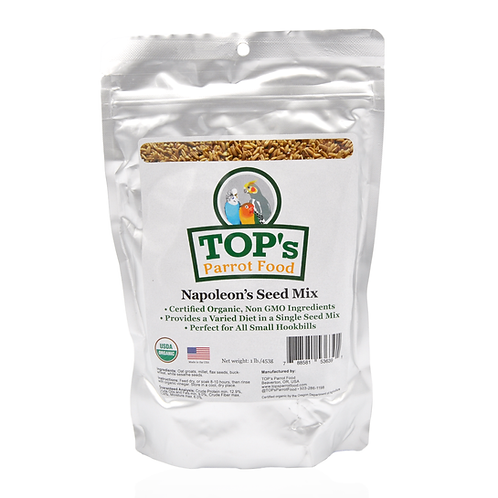 TOP's Parrot Food Napoleon's Seed Mix