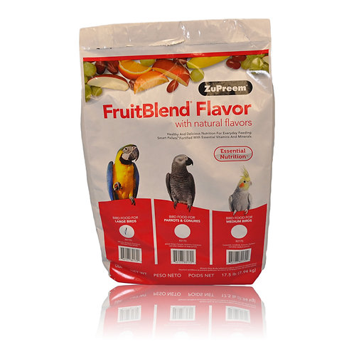 ZuPreem FruitBlend (Large), 17.5 lb