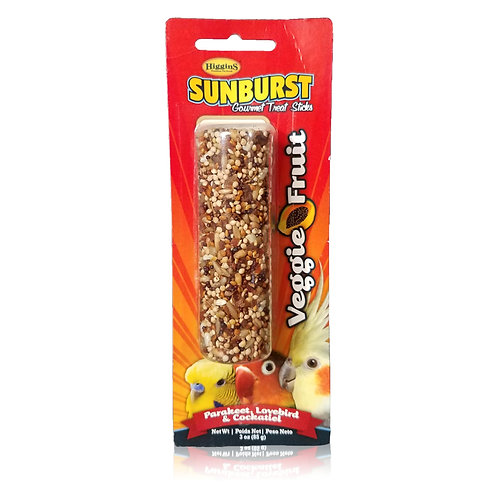 Sunburst Cockatiel Treat Stick, Veggie Fruit