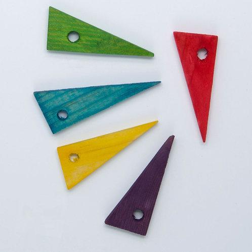 Wood Triangle Slice