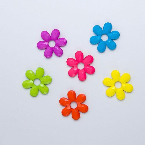 Chunky Plastic Flower