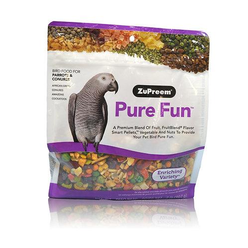 Zupreem Pure Fun Parrot & Conure, 2 lb