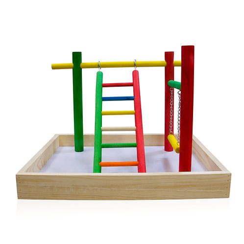 Colorful Wooden Playstand