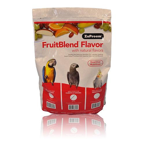 ZuPreem FruitBlend (Medium/Large), 17.5 lb