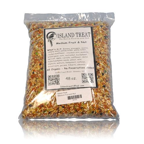Island Treat Medium Fruit and Nut, 48 oz