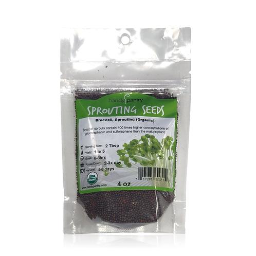 Broccoli, Sprouting (Organic)