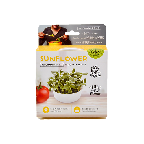 Sunflower Microgreen Kit