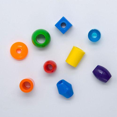 Plastic Bead, Medium