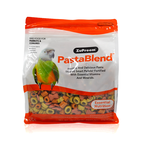 Zupreem PastaBlend Parrots & Conures, 3 lb