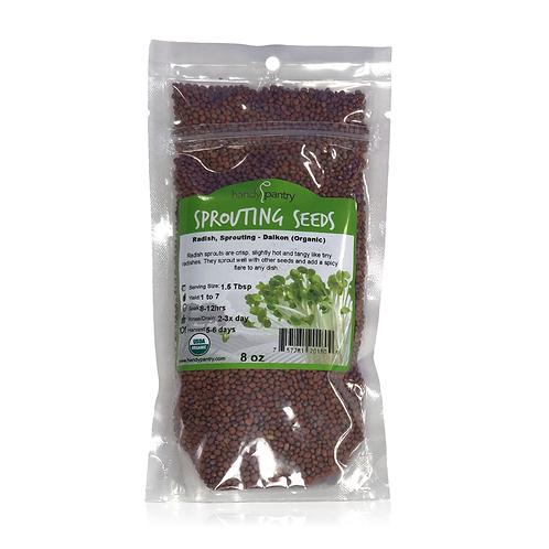 Radish, Sprouting - Dalkon (Organic), 8 oz