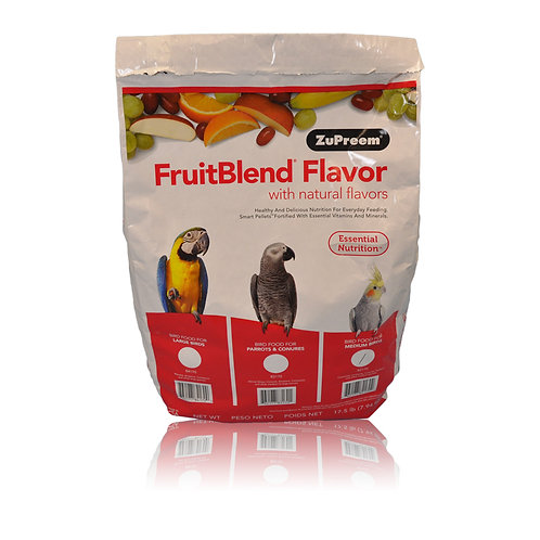 ZuPreem FruitBlend (Medium), 17.5 lb