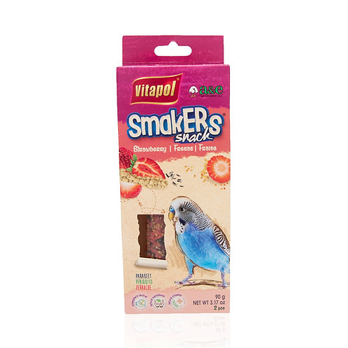 SmakERs Snack Parakeet Strawberry