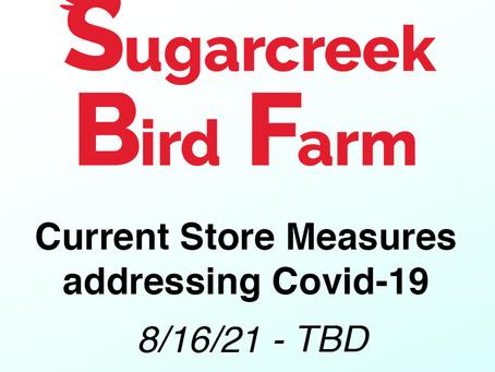 COVID-19 Measures 8/16/21