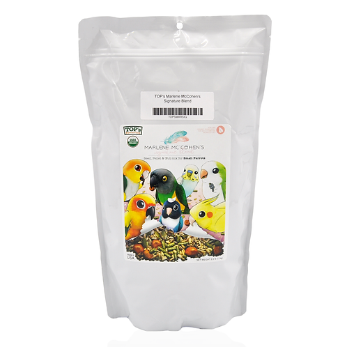 TOP's Parrot Food Marlene Mc'Ohen's Signature Blend, Small