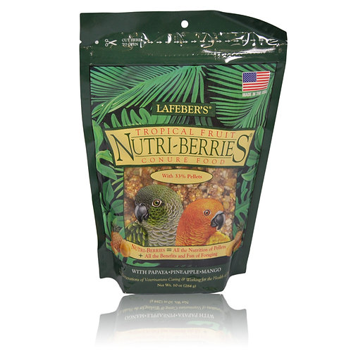 Nutri-Berries Tropical Fruits Conure, 10 oz