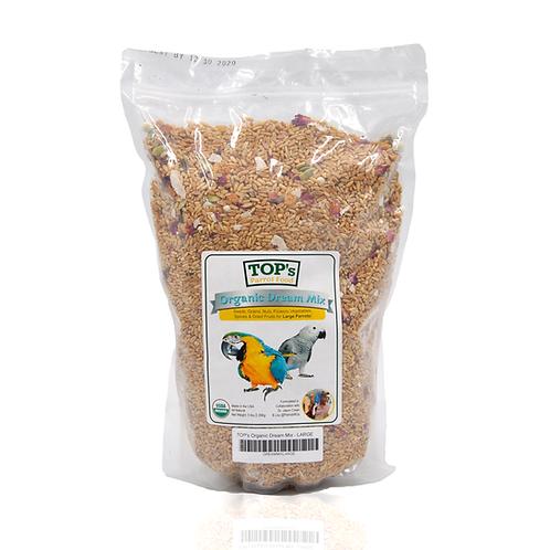 TOP's Parrot Food Organic Dream Mix
