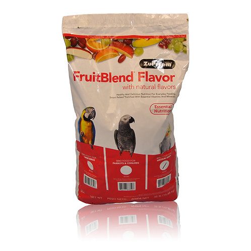 ZuPreem FruitBlend (Medium), 35 lb