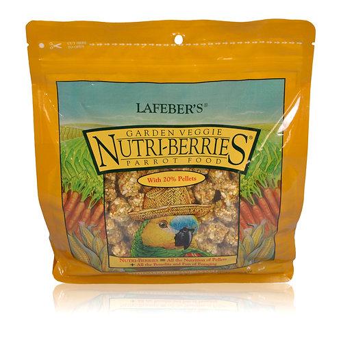 Nutri-Berries Garden Veggie Parrot, 3 lb