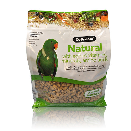 ZuPreem Natural (Medium/Large), 3 lb