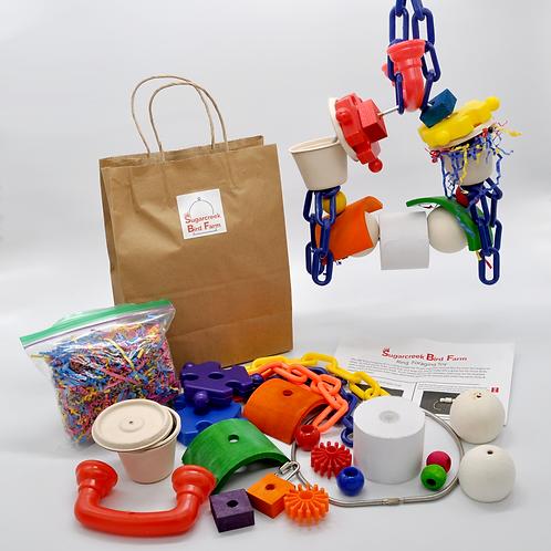 SBF Ring Foraging Toy Kit