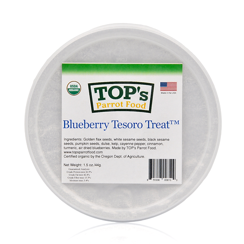 TOP's Parrot Food Blueberry Tesoro Treat